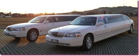 limousine in Versilia