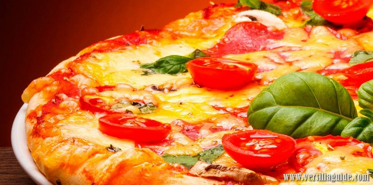 Pizza nei ristoranti in versilia