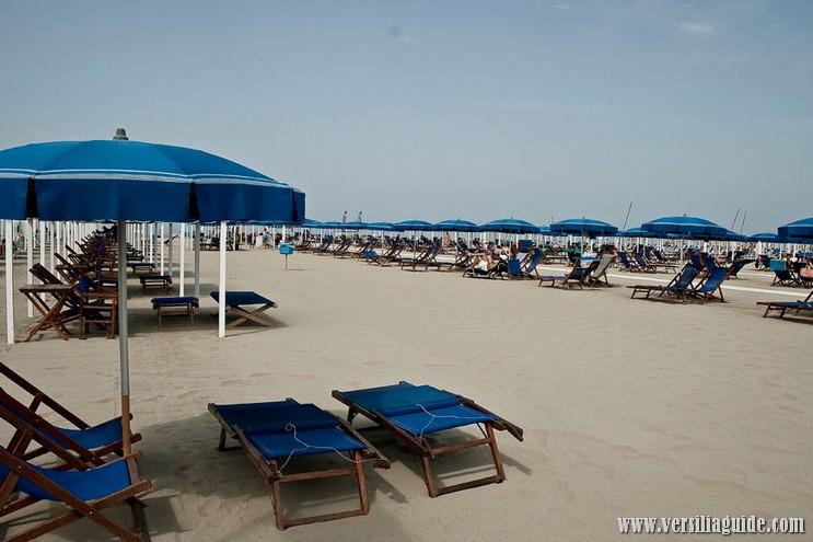 Ombrelloni e Tende in Affitto Spiagge Versilia