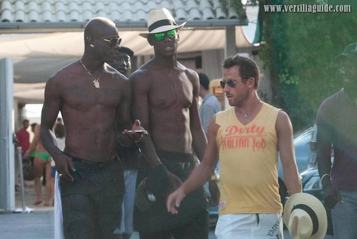 Mario Balottelli in Versilia