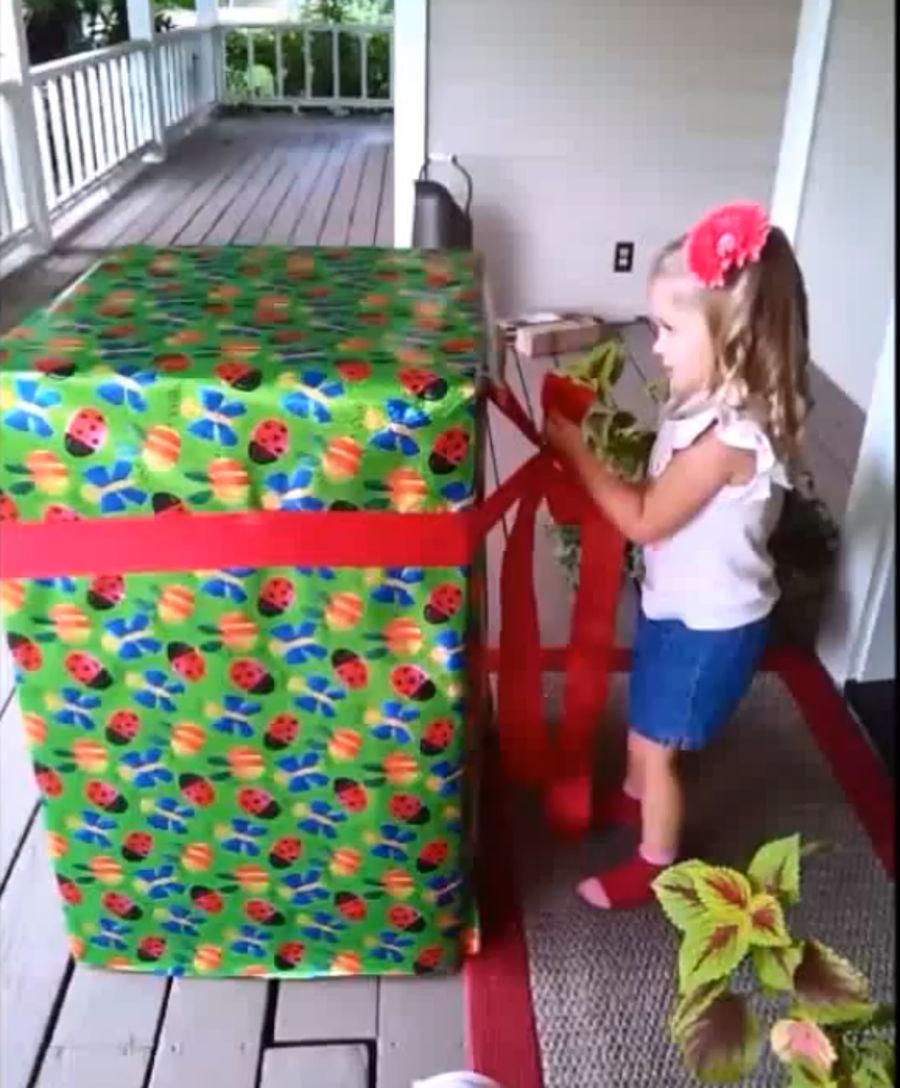 Pacco regalo gigante per bambini