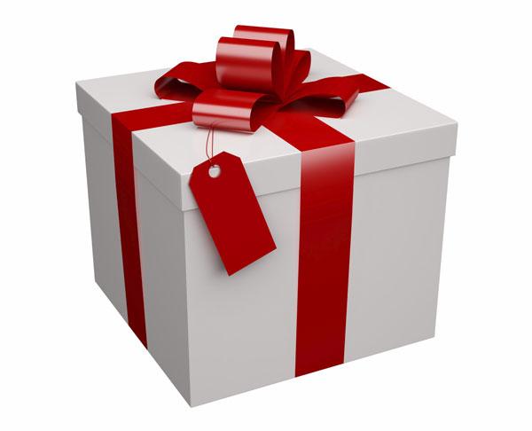 pacco regalo gigante