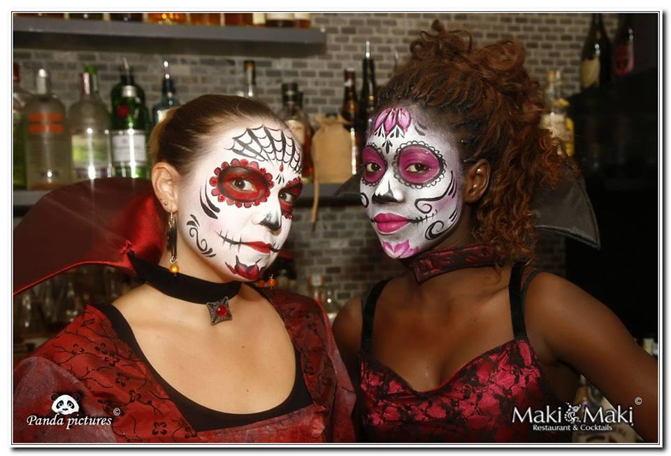 Halloween in maschera maki maki