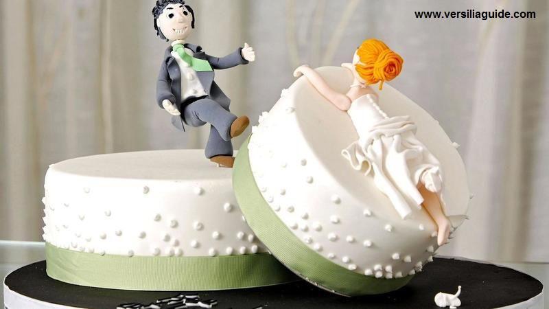 Torta Festa divorzio