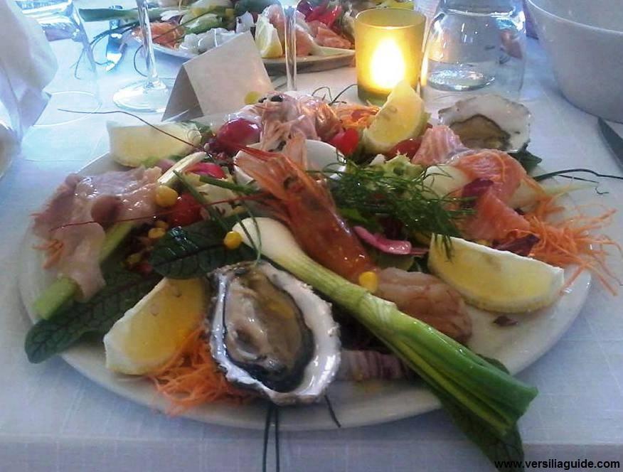 Piatto di mare Ristorante Bistrot Trogi
