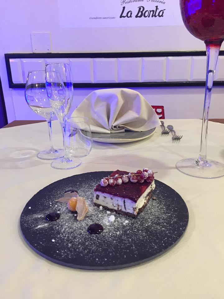Dessert Ristroante la Bontà Viareggio