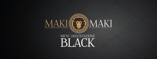Menù Black Maki Maki