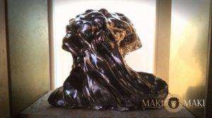 Opera artistica esposta ogni mercoledì al maki maki