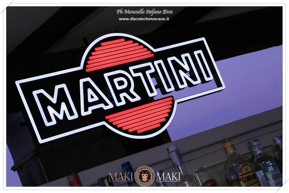 Martini Sponsor terrazza Maki Maki