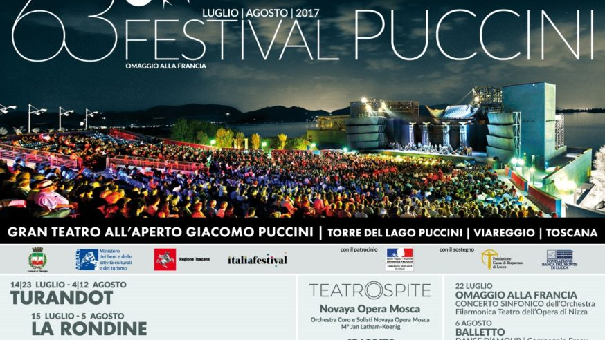 63° Festival Puccini programma 2017