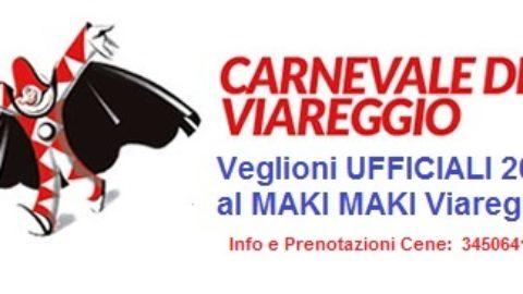 Veglioni Ufficiali Carnevale 2018 al MAKI MAKI Viareggio